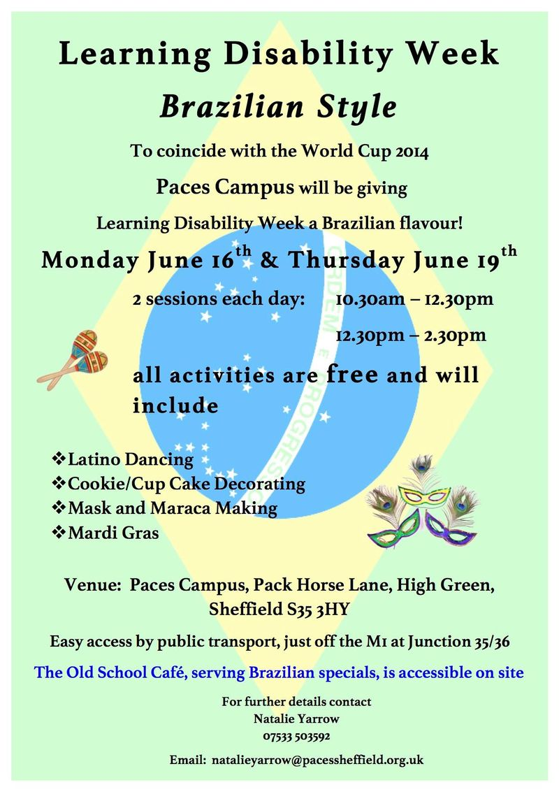 Learning Disabilities Week poster